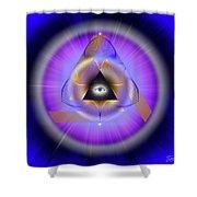 Sacred Geometry 642 Shower Curtain