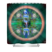 Sacred Geometry 648 Shower Curtain