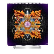 Sacred Geometry 701 Shower Curtain