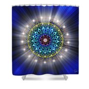 Sacred Geometry 79 Shower Curtain