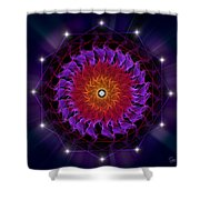 Sacred Geometry 81 Shower Curtain
