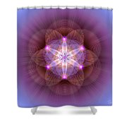 Sacred Geometry 82 Shower Curtain