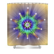 Sacred Geometry 83 Shower Curtain