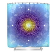 Sacred Geometry 84 Shower Curtain
