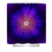 Sacred Geometry 93 Shower Curtain