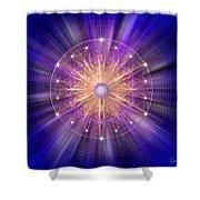 Sacred Geometry 94 Shower Curtain