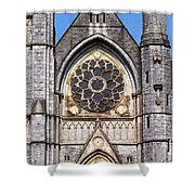 Sacred Heart Church Detail Roscommon Ireland Shower Curtain