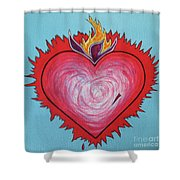 Sacred Heart No. 3 Shower Curtain
