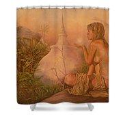 Sacred Lands Shower Curtain