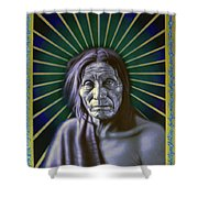 Sacred Native Shower Curtain