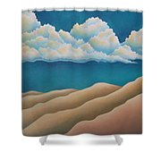 Sacred Night Shower Curtain