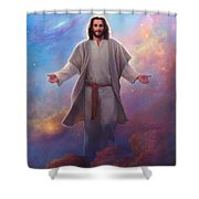 Sacred Space Shower Curtain