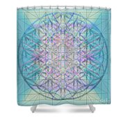 Sacred Symbols Out Of The Void 4b Shower Curtain