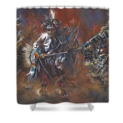 Sacred Traditions Shower Curtain