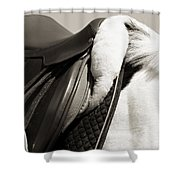 Saddle And Softness Shower Curtain