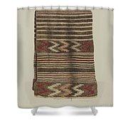 Saddle Blanket Shower Curtain