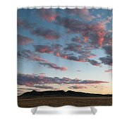 Saddle Butte Shower Curtain