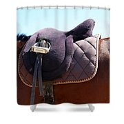 Saddle In  Shower Curtain