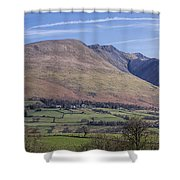 Saddleback Mountain Shower Curtain