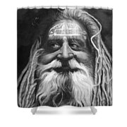 Sadhu  Shower Curtain