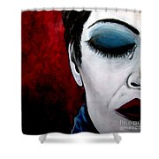 Sadness Shower Curtain