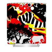 Safari Dreams Shower Curtain