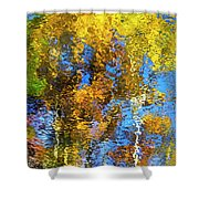 Safari Mosaic Abstract Art Shower Curtain