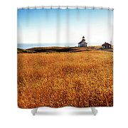 Safe At Home Shower Curtain