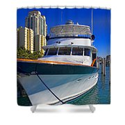 Yacht - Safe Harbor Series 39 Shower Curtain
