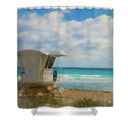 Safe Harbour Shower Curtain