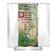 Safe Place Shower Curtain
