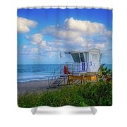 Safe Waters Shower Curtain
