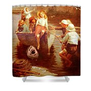 Safely Home Shower Curtain