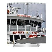 Safety Bell Shower Curtain