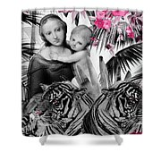 Safety In Numbers Shower Curtain