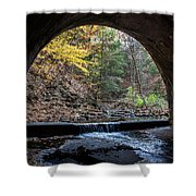 Sagamore Creek Tunnel Entry Shower Curtain