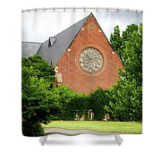 Sage Chapel Cornell University Ithaca New York 02 Shower Curtain