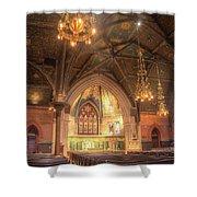Sage Chapel II Shower Curtain