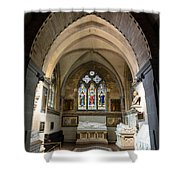 Sage Chapel Memorial Room Shower Curtain