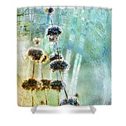 Sage Plant Shower Curtain