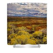 Sagebrush Country Shower Curtain