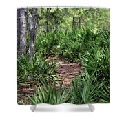 Sago Trail Shower Curtain