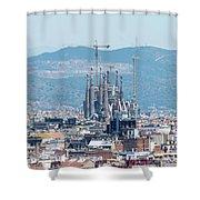 Sagrada Familia 2 Shower Curtain