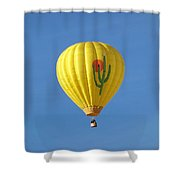 Saguaro Balloon Shower Curtain