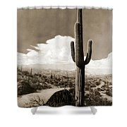 Saguaro Cactus 3 Shower Curtain