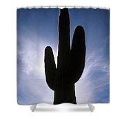 Saguaro Catus Silo Shower Curtain
