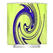 Saguaro Spines Abstract Shower Curtain