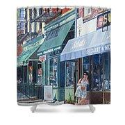 Sahadis Atlantic Avenue Brooklyn Shower Curtain