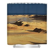 Sahara Desert Near Tozeur Tunisia Shower Curtain