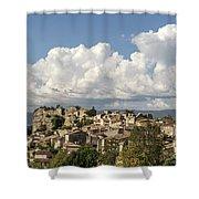 Saignon Village Provence  Shower Curtain